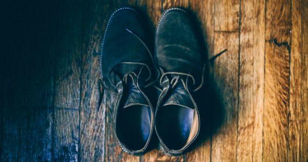 Empty shoes.