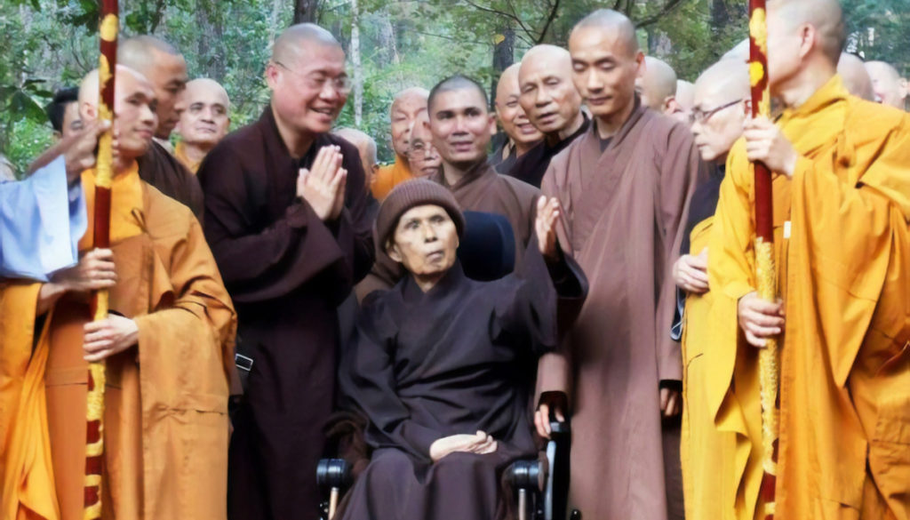 Thich Nhat Hanh S Health Remarkably Stable Despite Report In