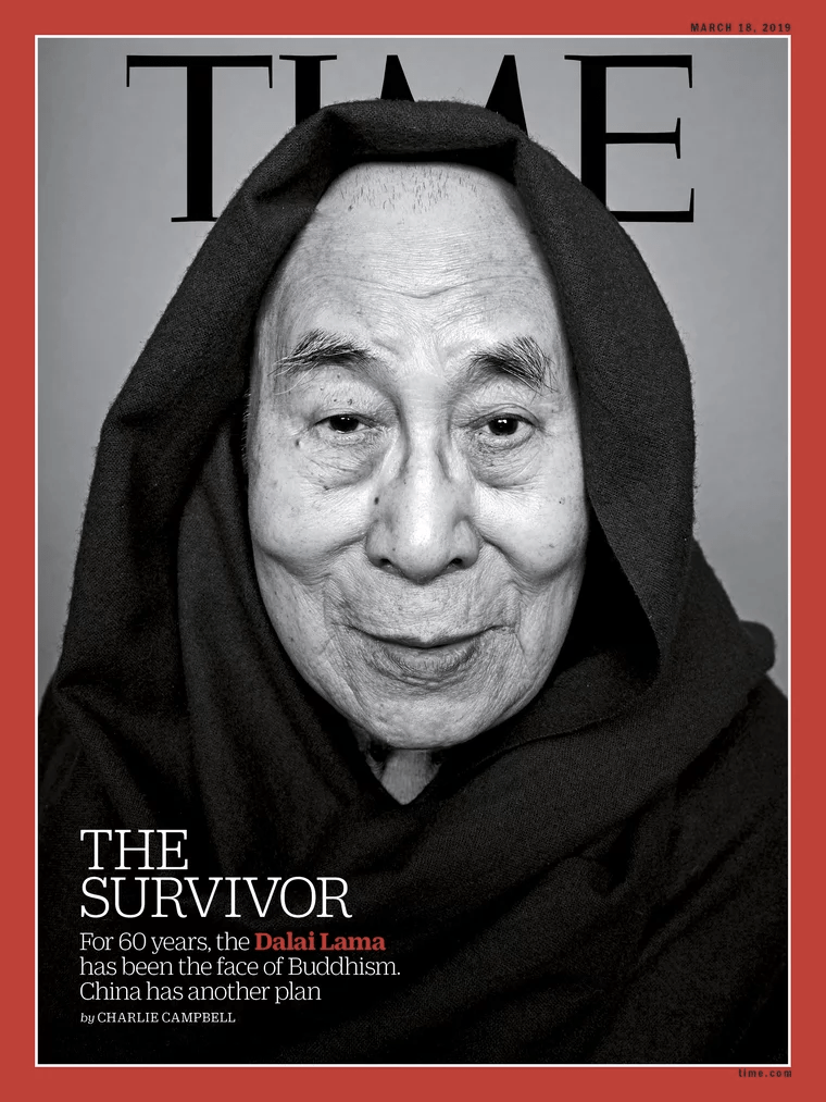 Dalai Lama TIME cover