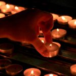 Sri Lankan Buddhist communities across North America hold candlelight vigils for bombing victims