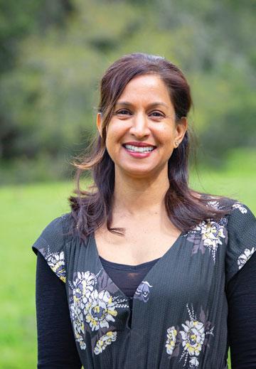 Nisha R. Shah smiling