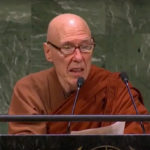 Watch Ven. Bhikkhu Bodhi deliver UN speech on climate change emergency