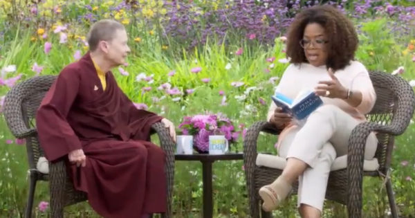 "Pema Chodron in her 2019 ""Super Soul Sunday"" interview with Oprah Winfrey"