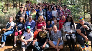 Sharing Trans Joy at the First Residential Retreat for the Transgender and Gender Expansive Community