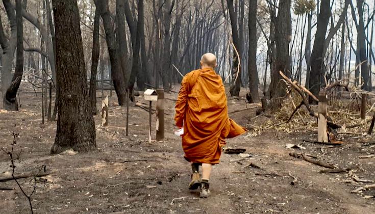 Bushfires threaten Buddhist communities in Australia ...