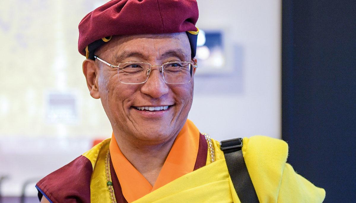 Photo of The Gyalwang Drukpa smiling