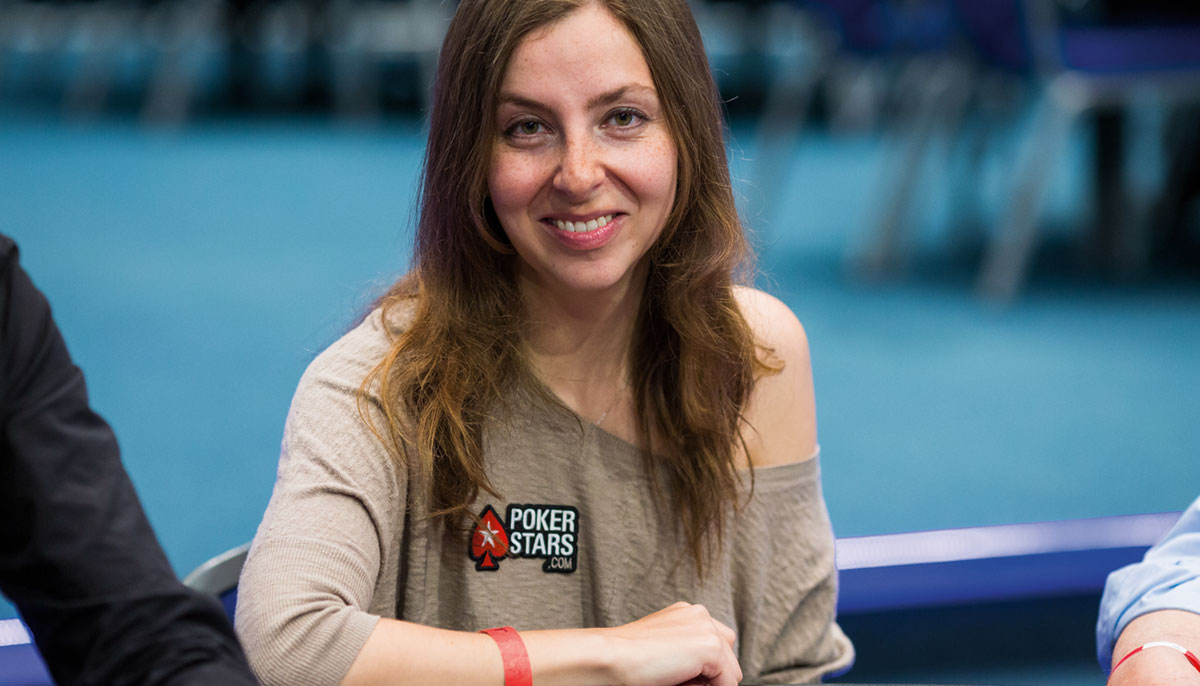Photo of Maria Konnikova smiling