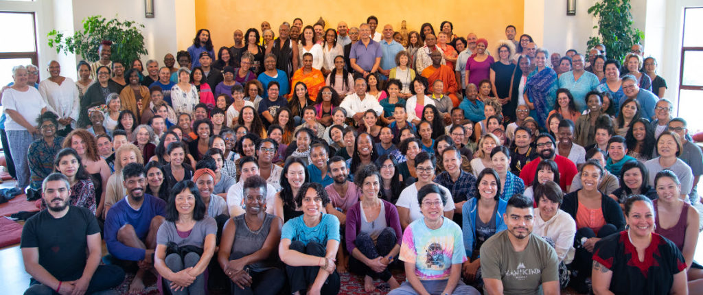Attendees at Spirit Rock's 2018 BIPOC retreat.