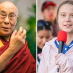 The Dalai Lama and Greta Thunberg Unite Against the Climate Crisis