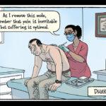Meditation is some serious funny business for Bizarro comic-strip artist Dan Piraro